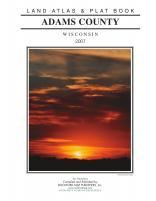 Title Page, Adams County 2007